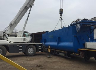 The dredger mark HCC 800-40-F-GR has been sent to the customer from Latvia