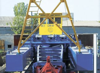 Produced two dredgers HCC 1200-40-F-E for the sludge extraction