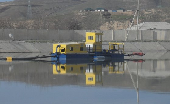 Installation, commissioning and testing of dredgers HCC 250-40 in Tajikistan