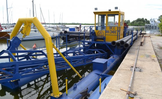 Dredger HCC 400-20-F-GR was delivered to the customer from Ukraine in early July