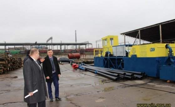 Vinnitsa Region in Ukraine acquired 2 dredgers for the clearing of water reservoirs in the region.